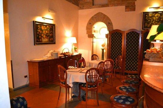 Hotel Degli Orafi:                   Snack area