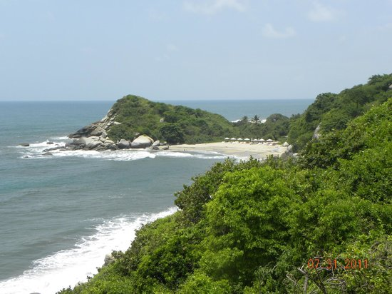 Decameron Galeón: Vista Parque Tairona