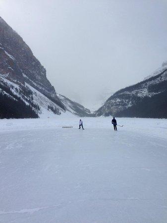 Fairmont Chateau Lake Louise:                   A Skate on the Lake                 