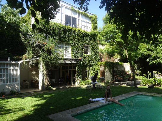L'Hotel Palermo:                   Jardin