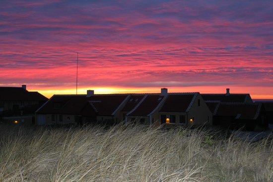 Ruths Hotel: Solnedgangen fra værelse