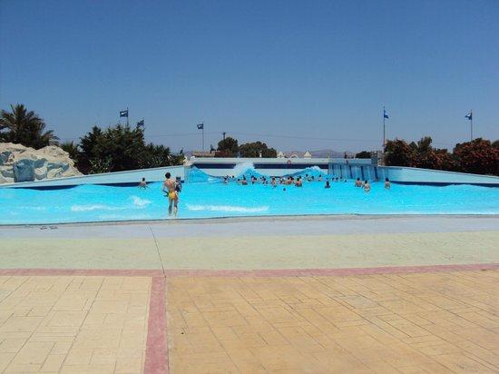 voor de kleintjes - Picture of Lido Waterpark, Mastichari ...