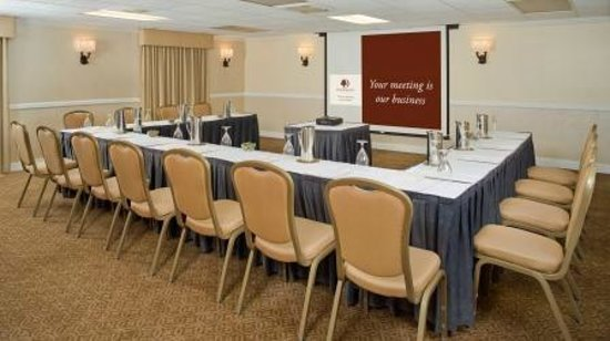 DoubleTree by Hilton Hotel Chicago Wood Dale - Elk Grove: Meeting Room