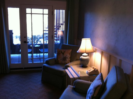 The Wine Country Inn:                   Comfortable room