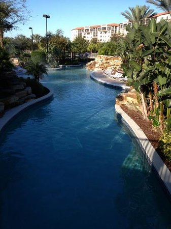 Holiday Inn Club Vacations At Orange Lake Resort:                   lazy river