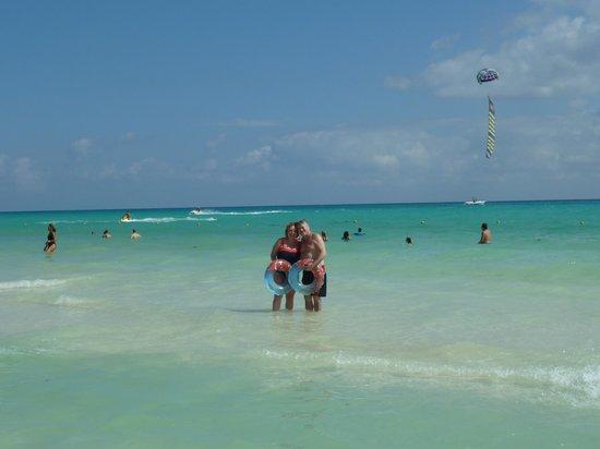 Hotel Riu Lupita:                   plage