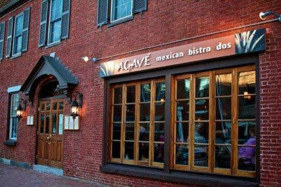 Agave Mexican Bistro Dos: Exterior 111 State Street, Portsmouth