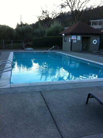 "Wine Country Inn & Cottages:                   ""Heated"" pool"