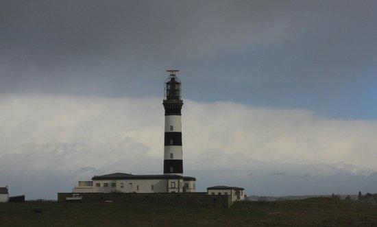 Ile d'Ouessant:                   Le phare du Créac'h