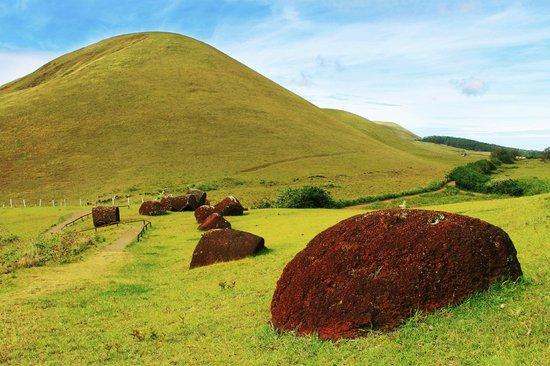 Hanga Roa, Chile:                                     Puna Pau