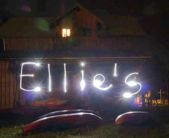 Ellies B&B:                   Nachts bei Ellie's