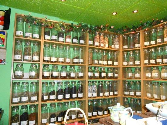 Mystery Tea House:                   A great selection of teas