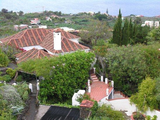 Los Molinos:                   Uitzicht vanaf het balkon