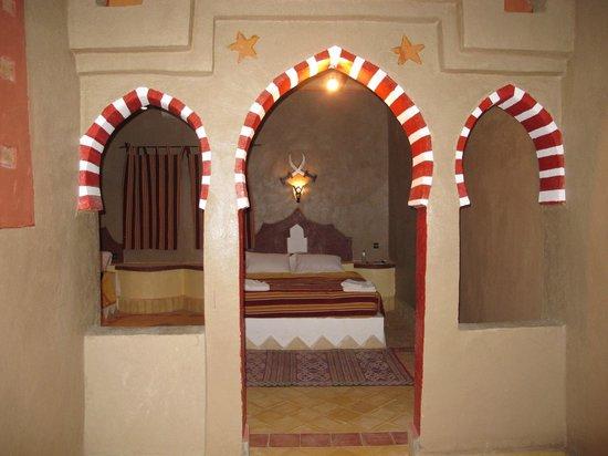 Kasbah Le:                   Une des jolies chambres de la Kasbah !