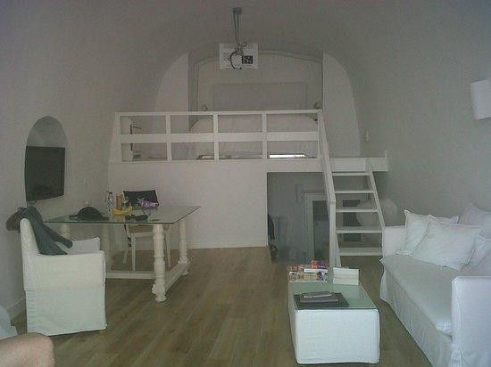 Katikies Hotel:                   Notre suite                 