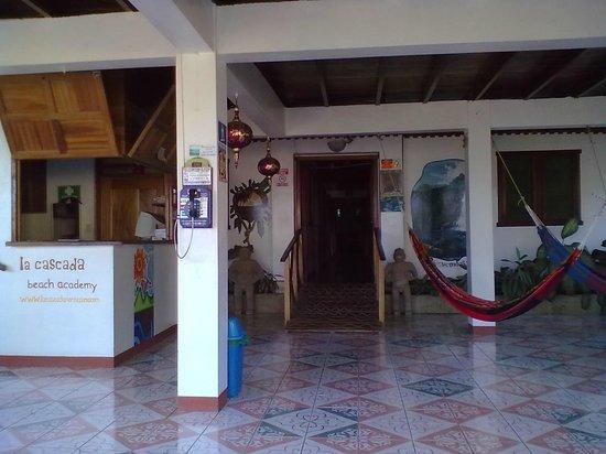 Hotel La Cascada:                                     l'ingresso
