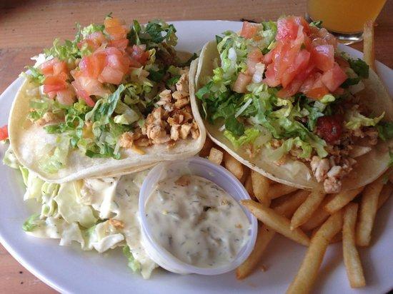 Paia Fish Market:                   Cajun grilled fish tacos