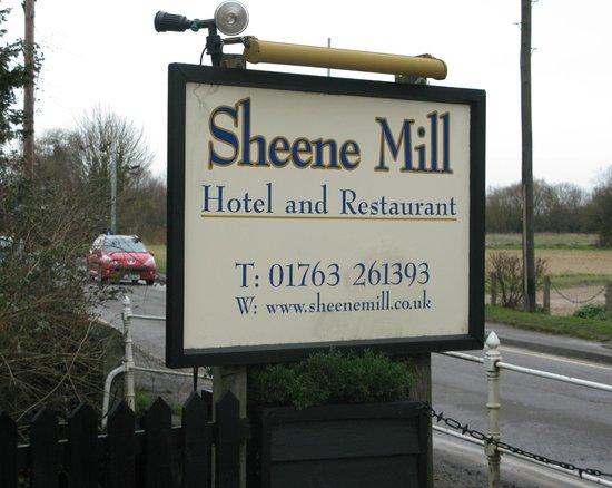 Sheene Mill: sign