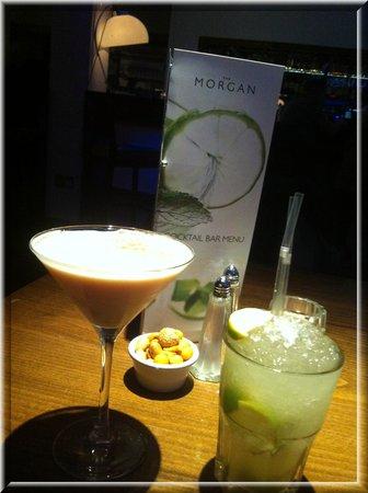 The Morgan Bar:                                     Morgan Swing