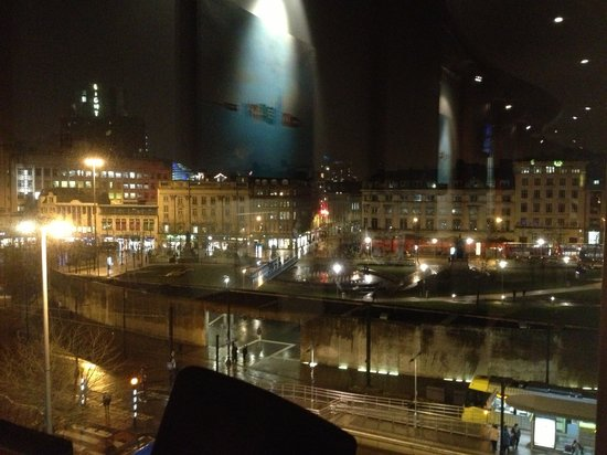 Mercure Manchester Piccadilly Hotel:                   View from restaurant