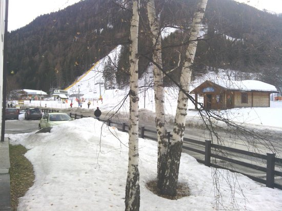 Hotel Planibel - TH Resorts:                   View of slopes from apartment balcony.