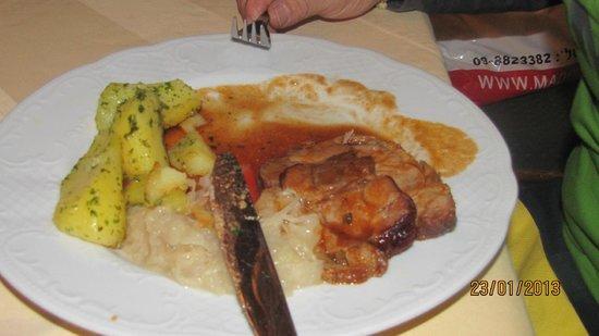 Schwarzer Adler Gasthof:                                     a typicall dish