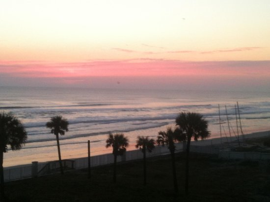 Fountain Beach Resort:                   Sunrise over the ocean taken from my balcony of Unit 405!