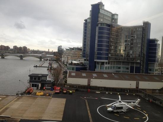 Crowne Plaza London - Battersea:                   View from 404