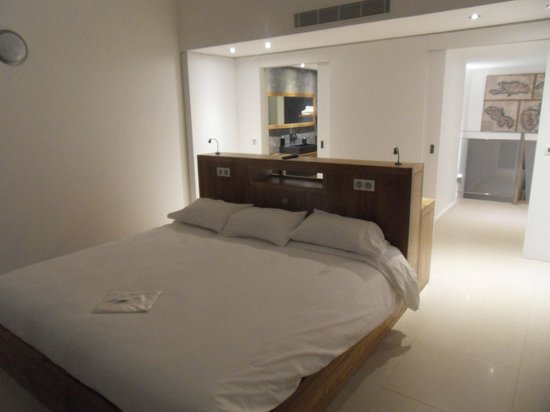 La Toubana Hotel & Spa:                                                                         La chambre avec vue mer