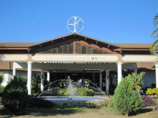 Melia Cayo Santa Maria: Entrance to lobby