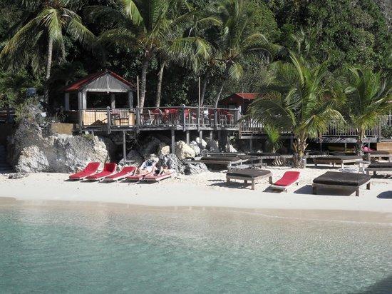 La Toubana Hotel & Spa:                                                                         La plage de l'hôtel