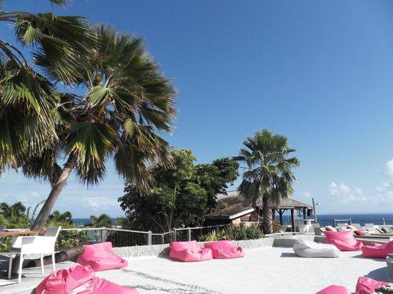 La Toubana Hotel & Spa:                                                                         Le coin détente à la pis