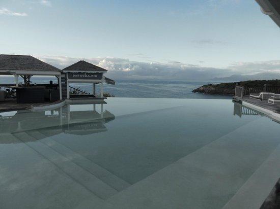La Toubana Hotel & Spa:                                                                         La piscine à débordement