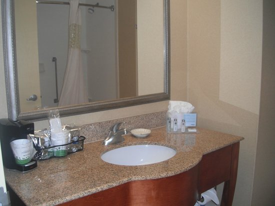 Hampton Inn Bonita Springs / Naples North: salle de bain