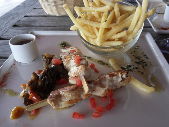 La Toubana Hotel & Spa: Le homard!!