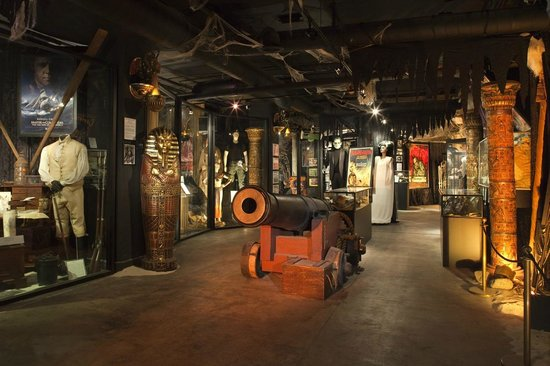 The Hollywood Museum: Lower Level/Basement