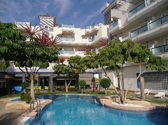 Cabo Roig, Hiszpania:                                     We spent many happy hours by the pools