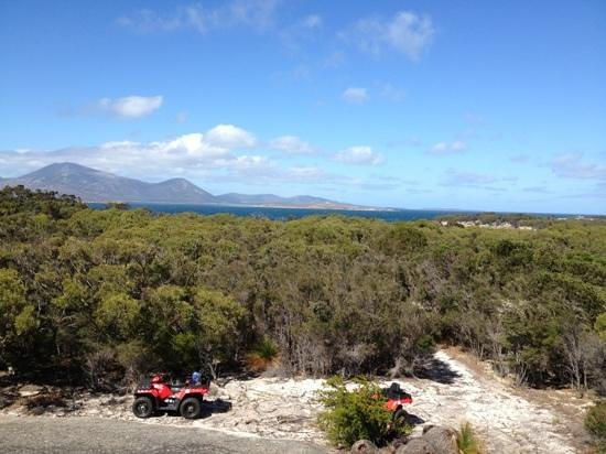 Flinders Island The Mountains In Bass Strait Video Of