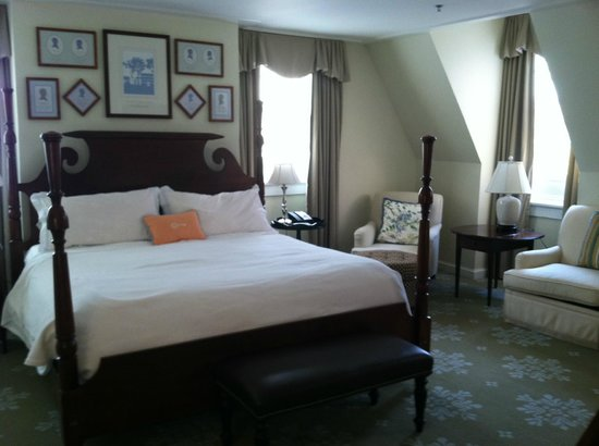 The Carolina Inn:                   Bedroom