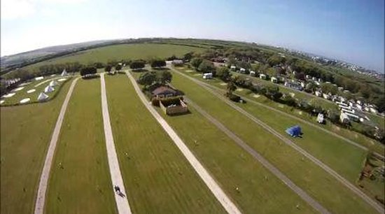 Trevella Holiday Park: Trevella from the air