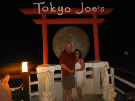 Sandals Montego Bay:                   Tokyo Joe's
