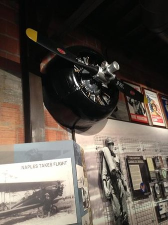 Naples Depot Museum: blade!