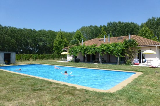Vina Chillan:                   the swimmingpool and the rooms