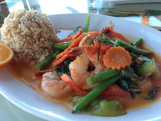 Brown Sugar by the Sea: Panang Curry w/ Shrimp