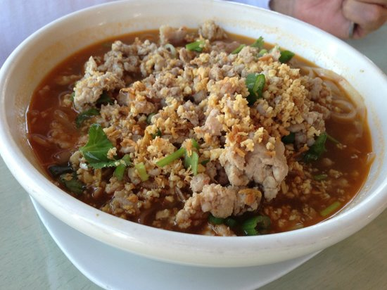 Brown Sugar by the Sea : Spicy Noodle Soup w/ Pork