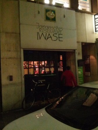 Iwase:                   Entrance