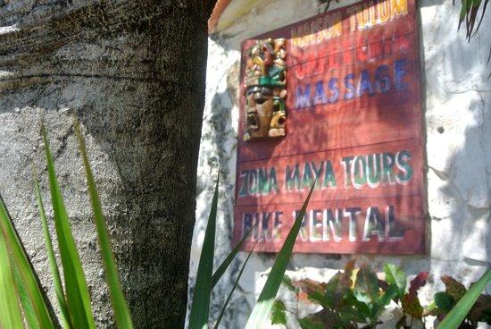 Maison Tulum:                   Entrance