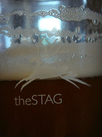 The Stag Hotel: the glass