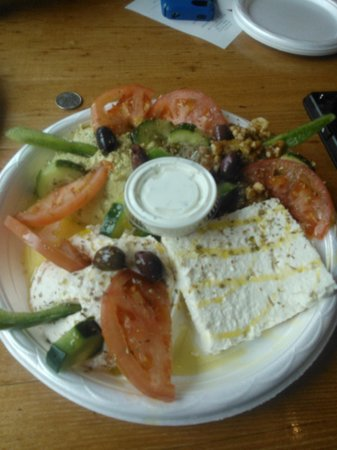 Niko Niko's Greek : Niko's Cheese and Dip Platter, Appetizer $14.50