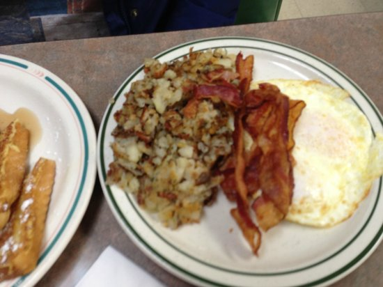 Pete's Cafe :                   Eggs